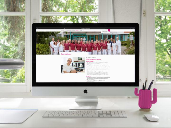 Relaunch Website Radiologie